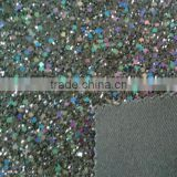 Fashion Multi Color Glitter Pu Leather for Shoes,Glitter Leather for Wallpaper Material,Bags and Hat Accessories