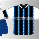 Attractive design soccer tracksuit/football uniforms set wholesale/custom sublimation american football uniforms