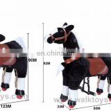 HI good quality shopping mall walking ride on horse toy with springs