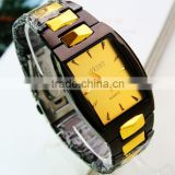 2014 cheap wholesale gold vogue metal watch