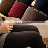 Wholesale Elegant Hot Young Girls Tights Vertical Stripes Spring Winter Warm Thick Ladies Tights