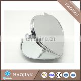 sublimation custom printed heart compact under 1 dollar mirror