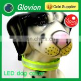 LED dog collar glovion dog collar whoelsale dog collar decorations