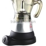 4cups electric italian moka coffee maker
