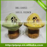 Factory Selling Antique Small Glazed Cute Ceramic mushroom
