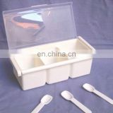 3 boxes plastic spice holder