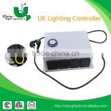 hydroponics lighting controller/EU,US,UK TYPE light controller with multi-socket