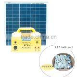 solar power system for home SS- SG12-30w 10w with bulb,radio ,battery,controller