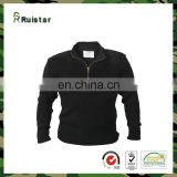 100% Acrylic Military Commando Pullover with Zipper