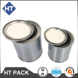 1 gallon paint tin can,metal chemical can,engine oil tin can
