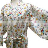 Chinavictor Clearance 100% Cotton Adult Free Size Japan Pajamas
