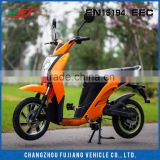 2015 modern beauty electric scooter, blue electric scooter price with european standard EEC