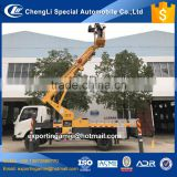 good quality hot selling chengli JMC 20m telescopic aerial work platform truck