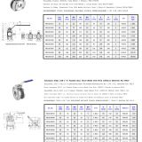 stainless steel 1-pc flanged ball valve