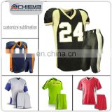 Dry fit print training jersey American Football Uniforms designed