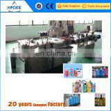 biodegradable plastic bottle filling capping and labeling machine