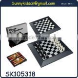 high quality chess chess board with EN71 luxury chess pieces