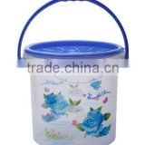 7lt Round Container With Handle