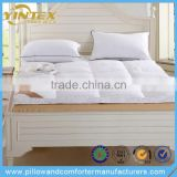 Breathable Close-Skin Duck Feather Down Mattress Topper