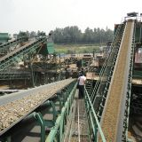 Mineral Sand Stone Rubber Belt Conveyor Manufacturer