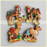 wholesale good quality Saudi Arabia souvenir 3d camel shaped soft pvc fridge magnets