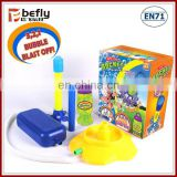 Kids new feed step soap rocket bubble toys wholesale