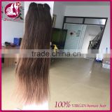 Aliexpress wholesale #2 #8 two tone ombre hair weave extension virgin brazilian human hair