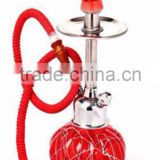 red glass fancy hookah shisha for sale