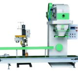 Open Mouth Bag Packing Machine Belt Type Bagging Machine, filling packing machine for Flaky Material, Water Reducer Bean