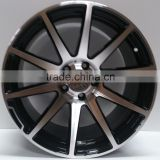 Wheels Rims Black machine face to fit 18 inch ET 35......EUROPES MAIN SUPPLIER. BEST PRICE. ONLY 1 to 4 DAYS DELIVERY