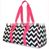 Travel Simple Shiny Cotton Wholesale Quilted Duffle Bags