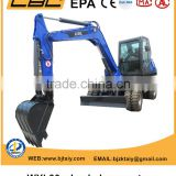 Small size digging wheel excavator made by China CBL factory