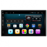 Car multimedia player with 2 DIN 7 inch Android GPS, Wifi, BT, Mirror link, smart phone and iPhone connectable