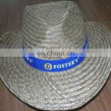 men's promotional wide rim fashion straw hat