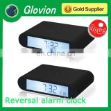 Hot sale new design Hobby Reversal kids digital clock for promotional gift