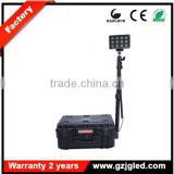 Portable mobile led floodlight for military JG-RLS936L rechargeable cordless led work light