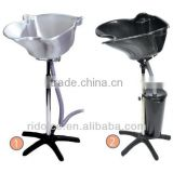 Portable shampoo basin with bucket hair wash equipment hair salon furniture used salon furniture F-71-001
