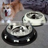 Hot selling pet dog products high quality dog bowl stainless steel