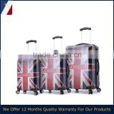 2015 in europ england market Printed Retro London Flag pattern luggage set                                                                         Quality Choice
