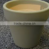 mini size cheap artificial plant glazed ceramic garden pots in wholesale price