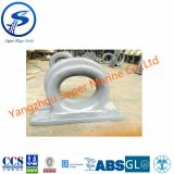 Chock Type C CB34-76,Type C marine ship mooring chock CB34-76,Type C Marine Mooring Ship Chock