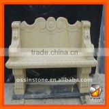 Hand Carved Nature Stone Chair Statues SC023