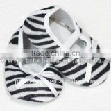 Baby Zebra Crib Shoes MAS39