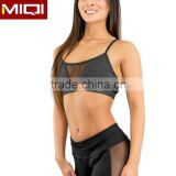Top Quality Ladies Sexy Mesh Sports Bra With Personal Logo