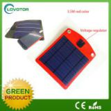 USB output port for solar mobile phone charger