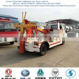 mini road wrecker truck 3 ton, rotator wrecker truck