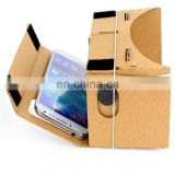 google HOT SEAL plain color Cardboard virtual reality headset 3d virtual reality vr haedset box VR034
