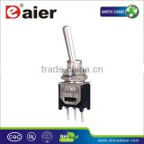 SMTS-101-A2 PC terminal ON-OFF toggle switch mini type