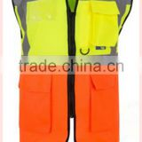 OEM wholesale reflective vest men protect workwear