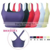 New Spring - Gym Wear Cross Back Sports Bra